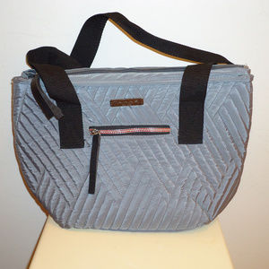 NWOT! Must See Tahari Gray Quilted Tote bag